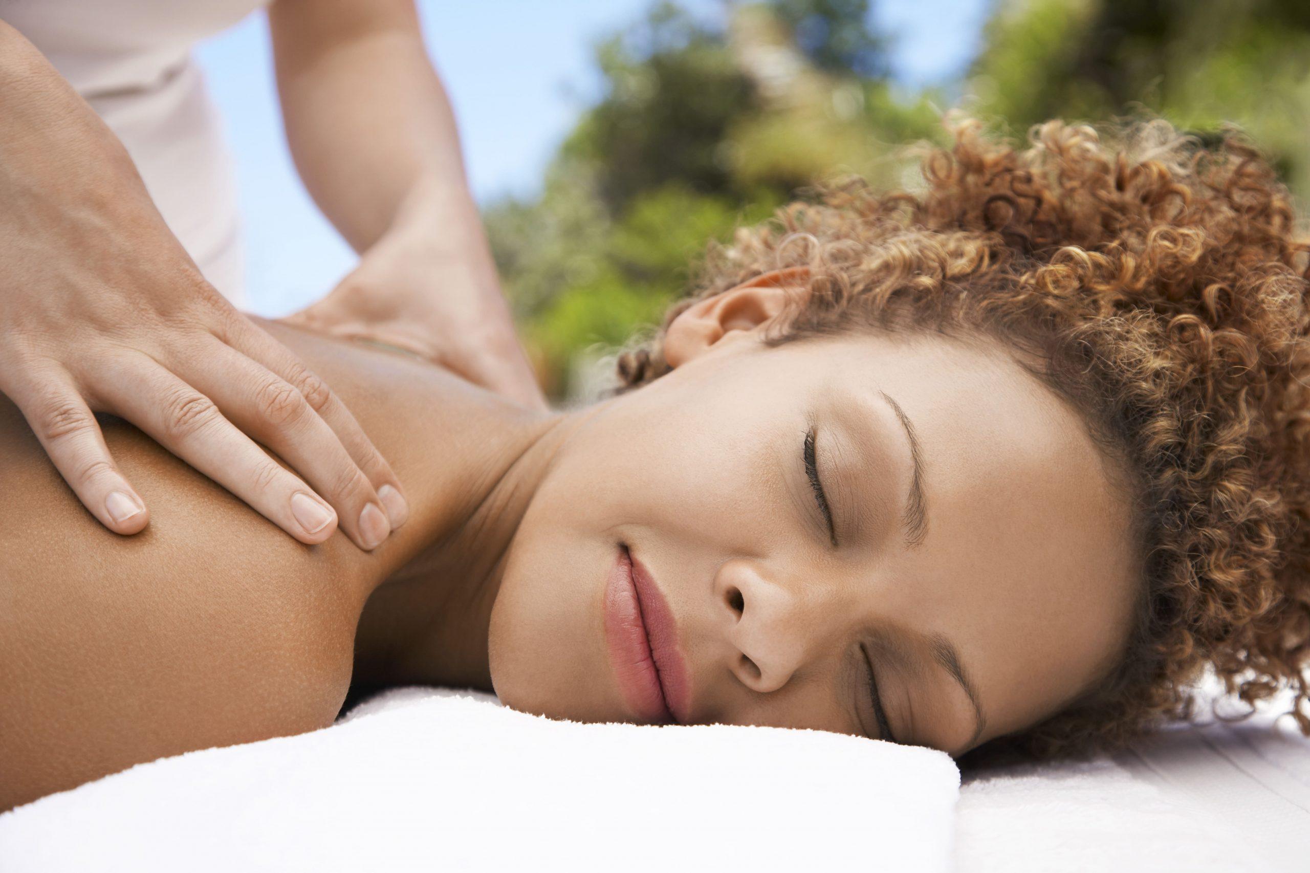 stress therapy massage